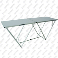 Aluminum Wallpaper Folding Table 2 Meters