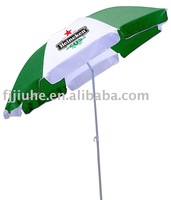 34 inches beach umbrella with tilt