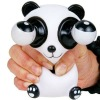Stress Relief White Small Panda Decompression Squeeze Gadget Pop Out Eyes Toy