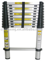 Telescopic Aluminium Step Ladder with EN131 Approval(2.0,2.6,3.2,3.8m)