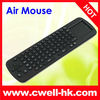 Mini 2.4G Wireless Air Mouse with keyboard for smart TV,TV box
