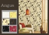 TKS simple modern style pvc wallpaper for interior decoration