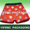 high end cloth shorts shaped fabric gift box