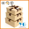Kraft Paper Box With Ribbon Rope