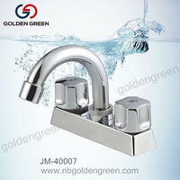 "South America double handles bathroom 4""faucet"
