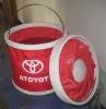 2011 Fashionable Style and Multifunctional Folding Waterproof Foldable Shopping Bucket