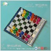 Colorful Glass Chess Game,Color Classic Chess game Set,Elegant Glass Game Pieces