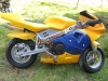 2-stroke mini pocket bike