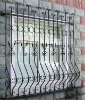 anti-theft iron window grill design