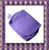 PVC fashion design bulk folded cosmetic bag