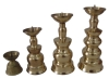 brass temple oil lamp base A8-020