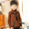 Branded Clothes Children Top Long Sleeve Winter Turtleneck T-shirt For Boy