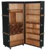 vintage wooden cupboard wine cabinet