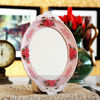 Wholesale resin decorative make up table mirror in stock many designs