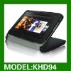 Protective Leather Stand Case Zipper Bag for kindle fire HD 7'