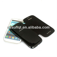 Hot sell leather battery pack cover for samsung galaxy s3 i9300