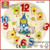 educational clocks for toys conform to EN71 ASTM