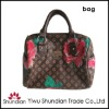 2013 women brown paper handbags tote bags