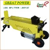 Electric Log Splitter LS6T-37-1 Wood Working Machine Log Cutter