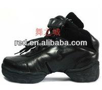 2012 Cowhide modern jazz dance boots