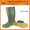 Steel toe PVC wellington boot