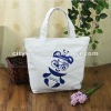 Korean version single shoulder bag fashion canvas original hand printing gifts premium