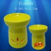 Ceramic spa aroma oil burner