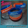 silicone bracelet with segment color