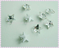 fancy crystal beads with pentagram shaped