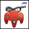 red n64 game joypad