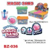 sell diy magic sand in tank shape toys