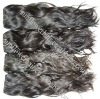 Cheap Indian wet and wavy hair weave