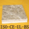 Magnesium board composite panel with marble