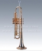 Trumpet,Gloden Plated,Brass bell,Brassl Tuning Pipe(TP8090G)