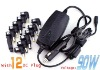 Universal adapter Laptop DC Power Adapter Car Charger 90W power supplier with 12 DC plug universal adapter car charger