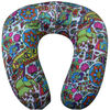 U shaped micro beads travel neck pillow