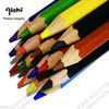 Kids wood color pencil with print for promotion