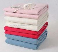 Plush fleece double electric heater blankets