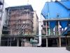 High efficiency power station boiler