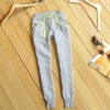 New style womens fashion fleece casual long sports pants trousers