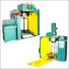 factory supply low carbon steel stand upside down type single time wire drawing machine