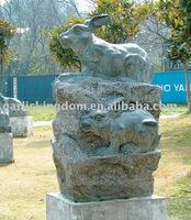 Lovely Rabbit Stone Carving