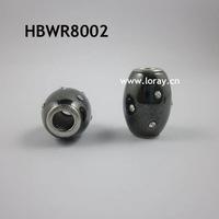 NEW big hold hematite beads with Swarovski rhinestones beads 2013