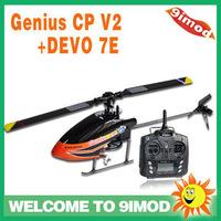 Walkera Genius CP V2 with DEVO 7E Flybarless 6-axis Gyro 3D Helicopter