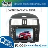 car audio for NISSAN NEW TIIDA GPS navigation with GPS bluetooth