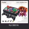 Home TV Arcade game NJ-3801A with Game Joystick video game station supporting TF card media player function