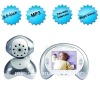 3.5 Inch Wireless Baby Monitor With Talkback and Night Vision Function