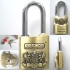Professional Security Alarm Padlock with high sensitive vibration and moving sensor