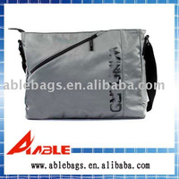 grey generous messenger bag with shoulder strap
