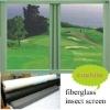 PVC coated 18*16 high quality white colors fiberglass window screen (ISO9001)